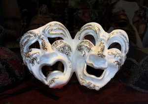 Comedy Tragedy Masks