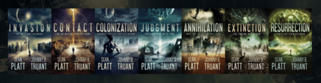 Invasion Series Covers